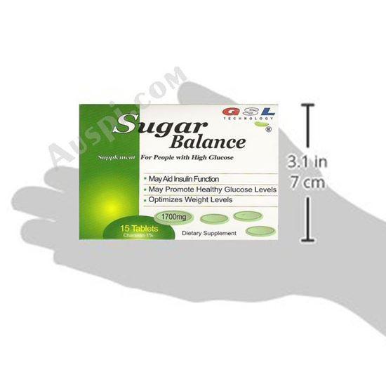 图片 GSL™ 血糖平片 - 15 片/盒